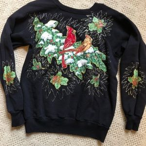 Vintage Christmas Holiday Ugly Sweater
